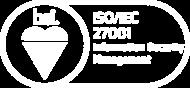 Zepcam is ISO 27001 certificated