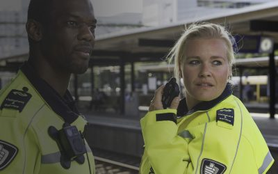 Safer train station employees with ZEPCAM