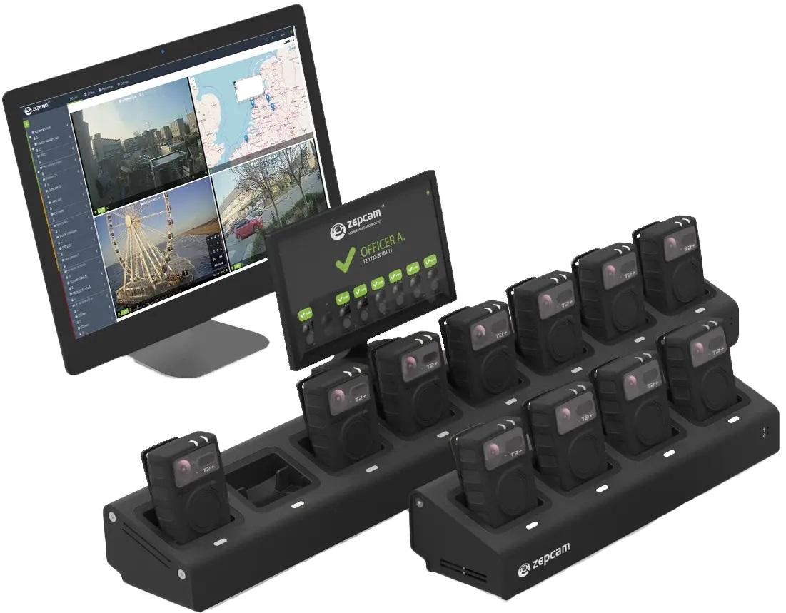 Bodycams-T2-Dockstation wt