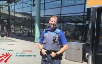 Safer local law enforcement officers at Airport Schiphol with ZEPCAM