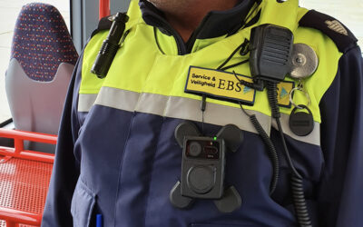 Safer local law enforcement officers at EBS public transport with ZEPCAM